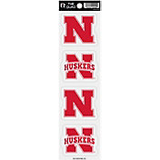 Rico Nebraska Cornhuskers The Quad Decal Pack