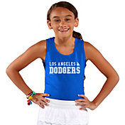 Soft As A Grape Youth Girls' Los Angeles Dodgers Royal Tank Top