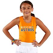 Soft As A Grape Youth Girls' Houston Astros Orange Tank Top