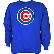 Stitches Men's Chicago Cubs Royal Long Sleeve Shirt
