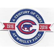 "The Emblem Source Chicago Cubs ""Century of Cubs at Wrigley Field"" Patch"