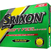 Srixon Soft Feel Tour Yellow Personalized Golf Balls