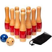 Hey! Play! 11'' Wooden Lawn Bowling Set