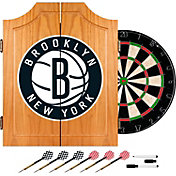 Trademark Games Brooklyn Nets Dart Cabinet