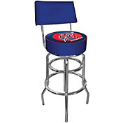 Trademark Games Washington Wizards Padded Swivel Bar Stool with Back