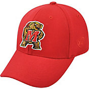 Top of the World Men's Maryland Terrapins Premium 1Fit Red Hat