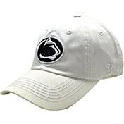 Top of the World Men's Penn State Nittany Lions White Crew Adjustable Hat