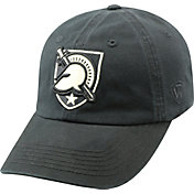 Top of the World Men's Army Black Knights Crew Army Black Adjustable Hat