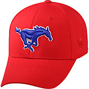 Top of the World Men's Southern Methodist Mustangs Red Premium Collection M-Fit Hat