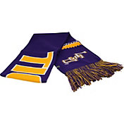 Top of the World Women's LSU Tigers Purple/Gold Polar Vortex Scarf