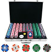 Trademark Poker 650 Chip NexGen PRO Classic Style Poker Chip Set and Case