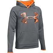 Under Armour Boys' Storm Armour Fleece Highlight Big Logo Hoodie