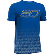 Under Armour Boys' SC30 Reigning Threes T-Shirt