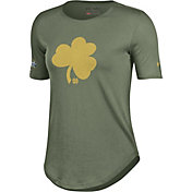 Under Armour Women's Notre Dame Fighting Irish Green Shamrock Series Performance T-Shirt