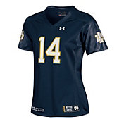 Under Armour Women's Notre Dame Fighting Irish Navy #14 Replica Football Jersey