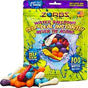 Zorbz Self-Sealing Water Balloons- 100 count