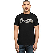 '47 Men's Atlanta Braves Black Club T-Shirt