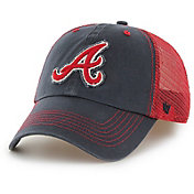 '47 Men's Atlanta Braves Taylor Closer Navy Fitted Hat