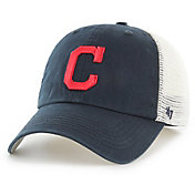 '47 Men's Cleveland Indians Blue Hill Closer Navy Fitted Hat