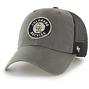 '47 Men's Colorado Rockies Oracle Closer Grey Fitted Hat