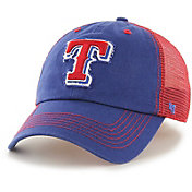 '47 Men's Texas Rangers Taylor Closer Royal Fitted Hat