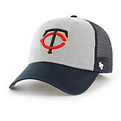 '47 Men's Minnesota Twins Ravine Closer Grey/Navy Fitted Hat
