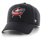 '47 Men's Columbus Blue Jackets MVP Navy Adjustable Hat