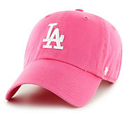 '47 Women's Los Angeles Dodgers Clean Up Pink Adjustable Hat