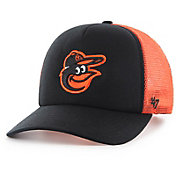 '47 Youth Baltimore Orioles Barlow Captain Grey Adjustable Snapback Hat