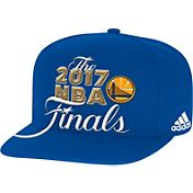 adidas Men's 2017 Western Conference Champions Golden State Warriors Locker Room Royal Adjustable Snapback Hat