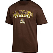 Champion Men's Valparaiso Crusaders Brown T-Shirt