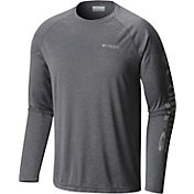Columbia Men's Terminal Tackle Heather Long Sleeve Shirt