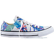 Converse Chuck Taylor All Star Tropical Print Low-Top Casual Shoes