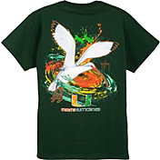 Guy Harvey Men's Miami Hurricanes Green T-Shirt