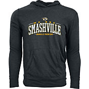Levelwear Men's Nashville Predators Smashville Charcoal Long Sleeve Hoodie T-Shirt