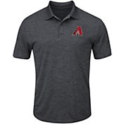 Majestic Men's Arizona Diamondbacks Cool Base Grey Polo