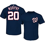 Majestic Men's Washington Nationals Daniel Murphy #20 Navy T-Shirt