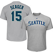 Majestic Youth Seattle Mariners Kyle Seager #15 Grey T-Shirt