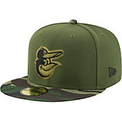New Era Men's Baltimore Orioles 59Fifty 2017 Memorial Day Camo Authentic Hat