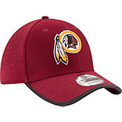 New Era Men's Washington Redskins 2017 Training Camp 39Thirty Red Flex Hat
