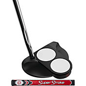 Odyssey O-Works 2-Ball Putter - Super Stroke Pistol GT Tour Counter Core Grip