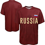 Outerstuff Men's Russia Replica Jersey Crimson T-Shirt