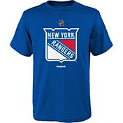 Reebok Youth New York Rangers Rangers Logo T-Shirt