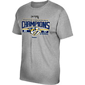 Reebok Men's 2017 NHL Western Conference Champions Nashville Predators Locker Room T-Shirt