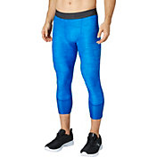 Reebok Men's Printed 3/4 Length Compression Tights
