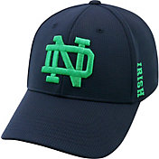 Top of the World Men's Notre Dame Fighting Irish Navy Booster Plus 1Fit Flex Hat