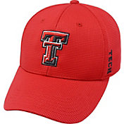 Top of the World Men's Texas Tech Red Raiders Red Booster Plus 1Fit Flex Hat