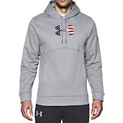 Under Armour Men's Freedom Storm Big Flag Logo Hoodie