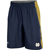 Under Armour Men's Notre Dame Fighting Irish Navy Woven Training Shorts