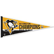 WinCraft 2017 Stanley Cup Champions Pittsburgh Penguins Pennant